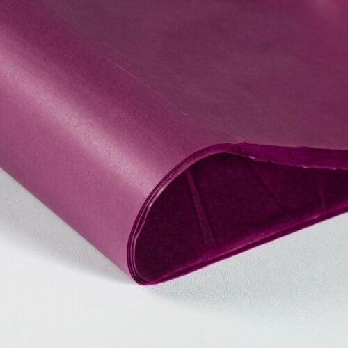 """Coloured Tissue Wrapping Paper 20 x 30/"""" 500 x 750mm 14gsm Choose Colour"""
