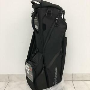 NEW-TaylorMade-2017-Flextech-Stand-Bag-Black-1-Side-Custom-Panel