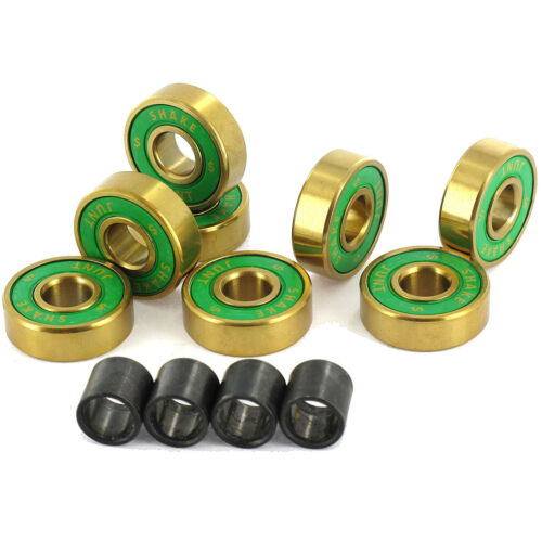 ABEC 7 Shake Junt  8mm Triple OG/'s Skateboard Bearings