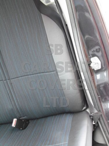 SEAT COVERS TO FIT A RENAULT TRAFIC VAN 2016 INDUS GREY
