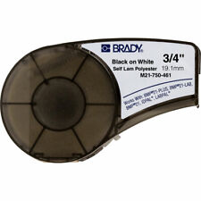 Brady 110933 Bmp21 Series Clear Polyester Labels White Printable Zone Y4075427