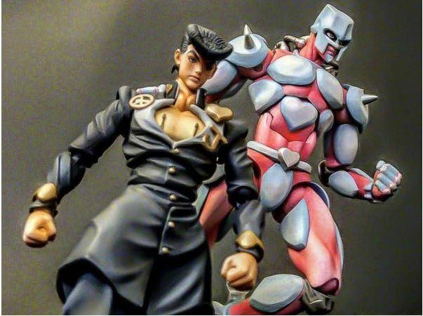 Medicos super figure movable Jojo crazy diamond second Josuke Higashikata