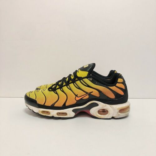 2014 Nike Air Max Plus Tn Sunset Orange Black Whit