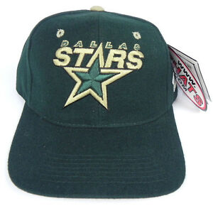 DALLAS-STARS-NHL-ZEPHYR-SHOOTOUT-VINTAGE-FITTED-SIZED-Z-CAP-HAT-NWT