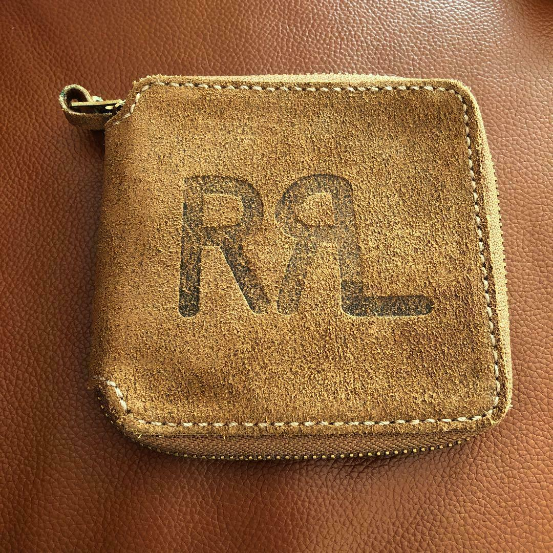 RRL Leather Wallet Handmade in USA Good condition
