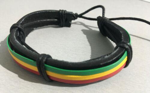 Herrenarmband Damenarmband ECHT LEDER Bikerarmband SURFER Biker Wickelarmband