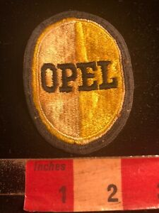 Vintage-Car-Auto-OPEL-Full-Embroidered-Advertising-Patch-00SF