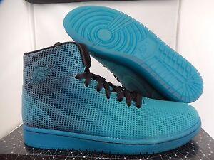 best sneakers 8f12e 5a1a1 Image is loading NIKE-AIR-JORDAN-4LAB1-BLACK-TROPICAL-TEAL-SZ-
