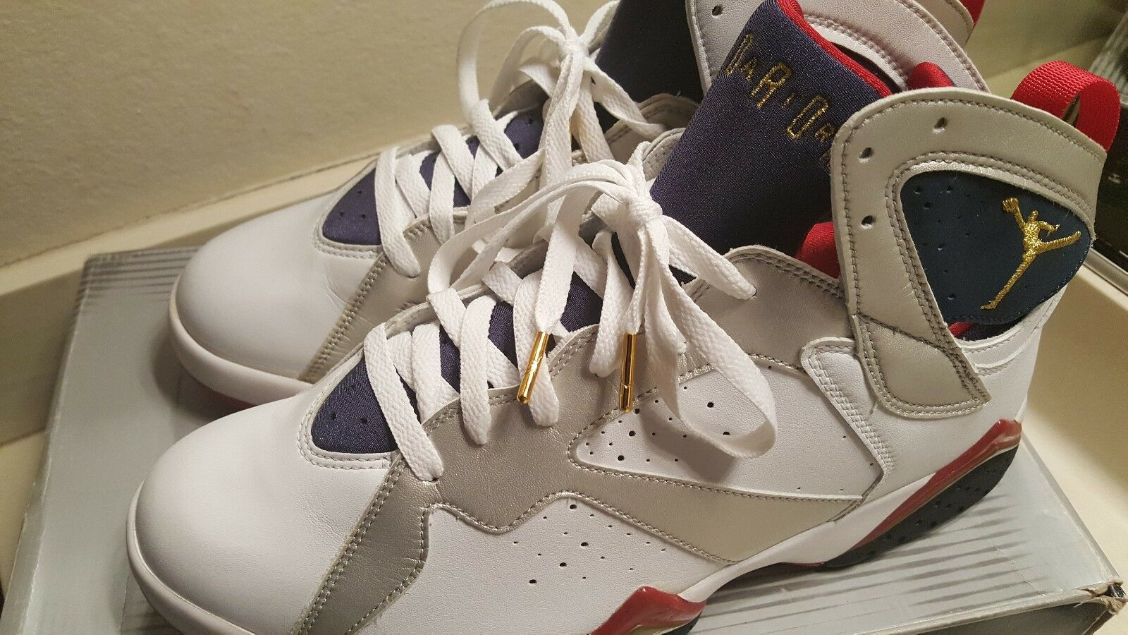750ce720855 VNDS Nike Air Jordan 7 Retro Olympic Style Size 12 2004 nxpdai8095-Athletic  Shoes