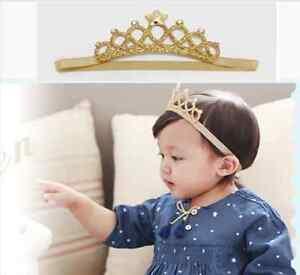 1Pc Girl Princess Headband Baby Hair Band Crown Tiara Toddler Girls ... b278d7d2c11