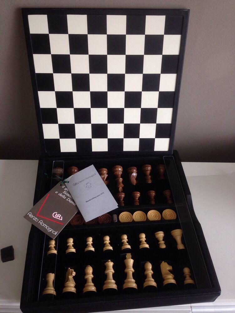 Renzo Romagnoli Juego De Ajedrez Checker al por menor  750