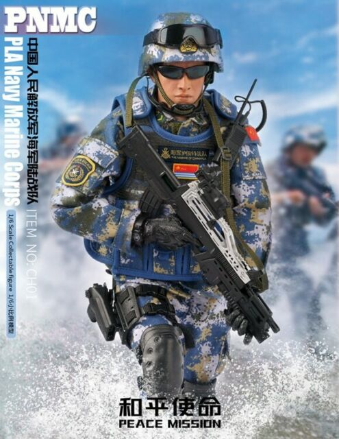 1//6 Scale Chinese Peacekeepers KADHobby Action Figures Body Target