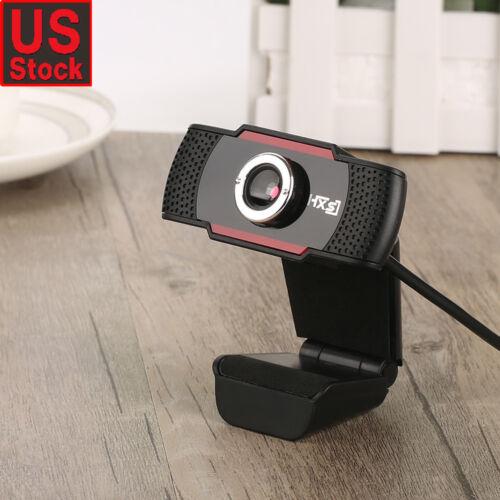 USB 12 Megapixel HD Webcam Web Cam Camera w// MIC for Computer PC Laptop Desktop