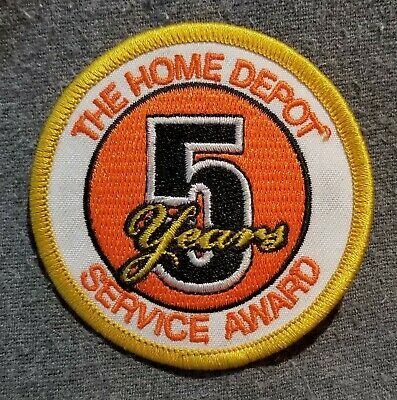 LMH PATCH Badge CLUB 365 2 Year Safety Excellence HOME DEPOT Employee Award