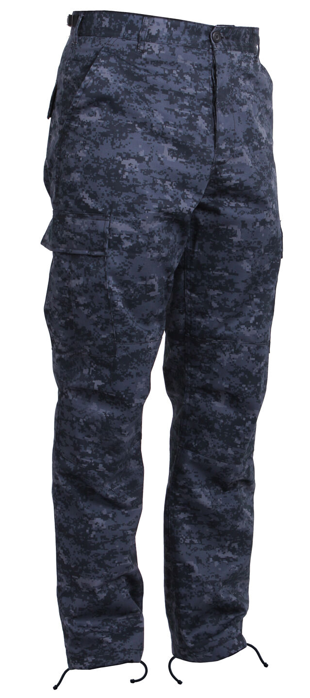 Bdu pants pant military style cargo bluee digital camouflage camo redhco 99660