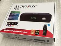 Brand Audiobox Tv-001 Digital Tv Converter Box W Hdmi/usb Rca Complete