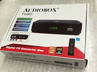 Brand Audiobox Tv-001 Digital Tv Converter Box W Hdmi/usb Rca Complete