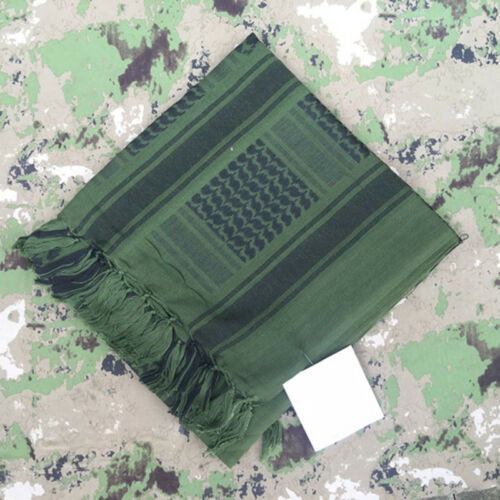 1 PC 110 110cm Winter Scarf Shawl Thick Military Tactical Desert Army Outdoor