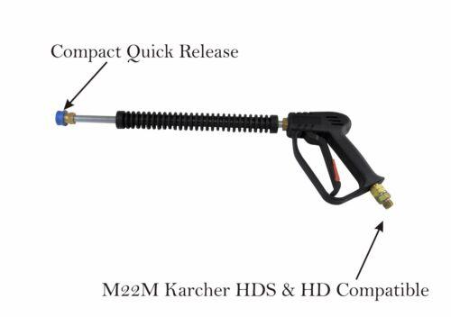 Pressure Washer Q//R Wash Gun Lance Extension Turbo Spray Nozzles M22M Size 04