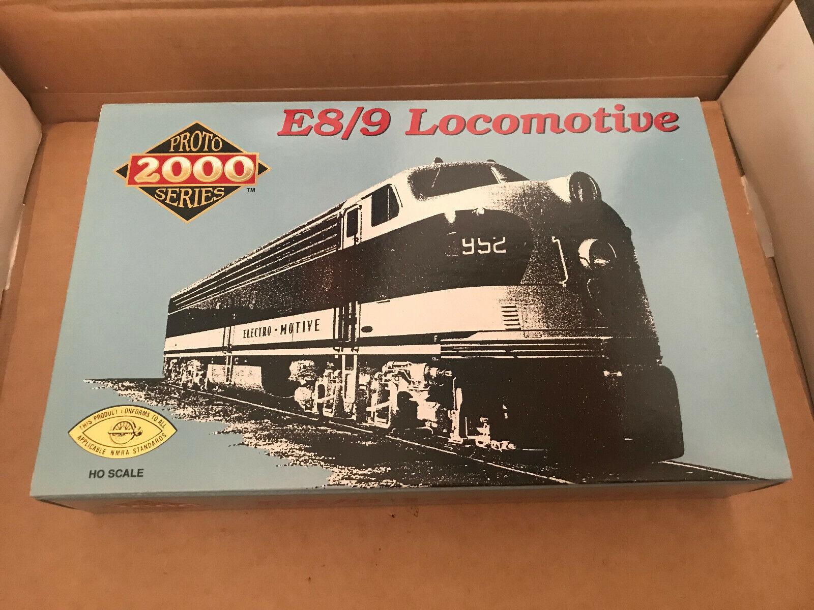 Projoo 2000 Serie 8038 ,Locomotora Diésel E8 9 Der New York Central  4040 Nuevo +