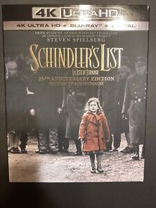 Schindler-039-s-List-4K-Ultra-HD-Brand-New-w-Digital-Blu-Ray-Disc-2018