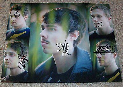 4 Drip-Dry Joywave Group Signed Autograph 8x10 Photo E W/proof Daniel Armbruster Autographs-original