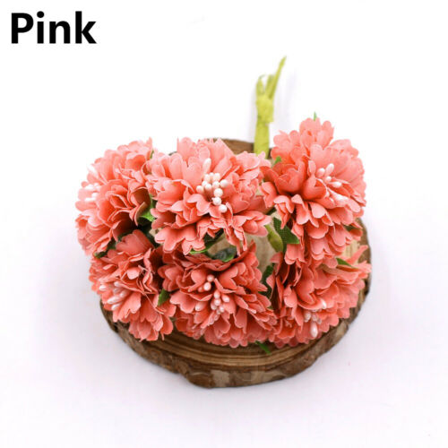 Home Decor Mini Daisy Artificial Flower Fake Flores Bouquet Silk Gerbera