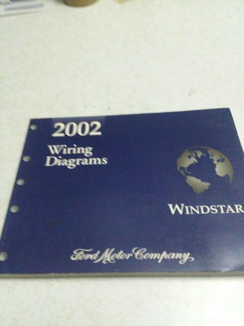 2002 Windstar Wiring Diagrams Dealership Shop Repair
