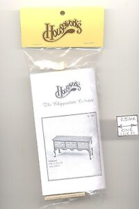1//12 scale 13015 Gate-Leg Table Chippendale dollhouse furniture kit Housework