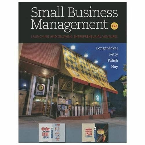 Small business management by leslie e palich justin g longenecker small business management by leslie e palich justin g longenecker j william petty and frank hoy 2013 hardcover fandeluxe Image collections