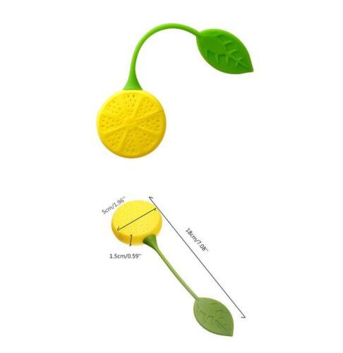 Original Et Hygiénique En forme de citron Boule À Thé En Silicone