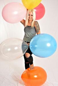 * Sale * 100 Ballons 48 Cm ø * Multicolore * 100 X Ballon Multicolores * D'* Fête *-afficher Le Titre D'origine