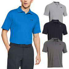Under Armour Mens UA Performance Golf Stretch Durable Polo Shirt