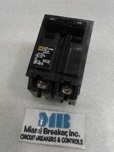 hom245 circuit breaker 45 amp 2 pole 120 240 vac new ebay. Black Bedroom Furniture Sets. Home Design Ideas