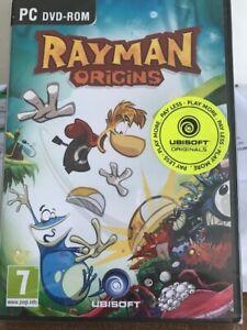 RAYMAN ORIGINS - PC DVD ROM - NEUF -  Version Française et hollandaise