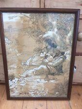 Louis rhead ILLUSTRAZIONE (1857-1926) Corpo D'INCHIOSTRO per penna originale colore C1900