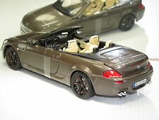 BMW  M6 CABRIOLET METALLIC BROWN CUSTOM RIMS NEW IN BOX
