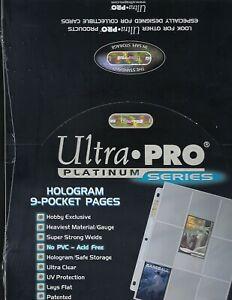 10-Ultra-Pro-PLATINUM-9-POCKET-PAGES