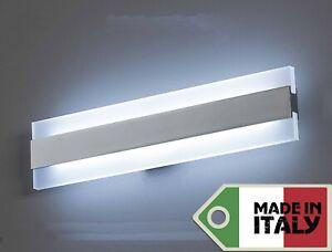 Lampada applique a led design moderno specchio bagno muro stile