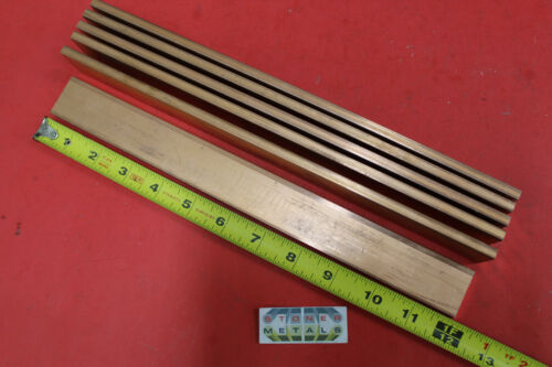 "6 Pieces 1//4/""x 1-1//4/"" C110 COPPER BAR 12/"" long Solid Flat Bus Bar Stock H02"