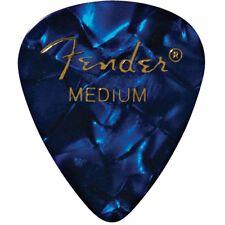 Fender Blue Guitar Picks Medium Set of 12 1980351802