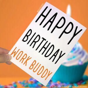 Alles Gute Zum Geburtstag Grusskarten Arbeit Kumpel Kollege Geschenk