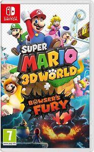 Nintendo super Mario 3d World Bowser's Fury
