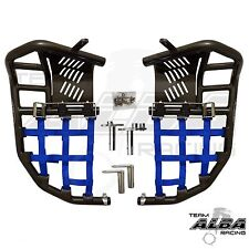 Yamaha Raptor 250 125  Nerf Bars   Alba Racing    Silver Bar Black 192 T1 SB