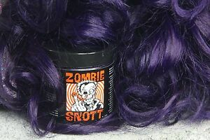 ZOMBIE-SNOTT-034-Violet-X-034-BRAND-NEW-long-lasting-hair-color-to-DYE-for-4oz