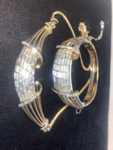 vintage corocraft bracelet necklace set