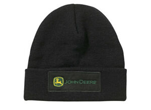 Genuine-John-Deere-Logo-Beanie-Hat-Woolly-Gift-Christmas-Stocking-MCJ099308000