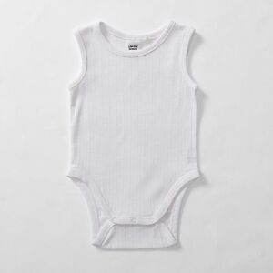 NEW-Baby-Sleeveless-Organic-Cotton-Bodysuit