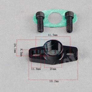Aluminum Turbo Oil Drain Flange for GT Ball Bearing GT25R GT28R GT30R GT35R