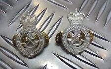 Genuine British Army NOTT'S and SHERWOOD RANGERS YEOMANRY Collar Dogs Brand New